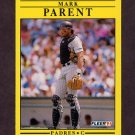 1991 Fleer Baseball #538 Mark Parent - San Diego Padres
