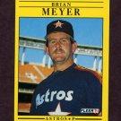 1991 Fleer Baseball #510 Brian Meyer - Houston Astros
