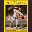 1991 Fleer Baseball #495 Mark Williamson - Baltimore Orioles