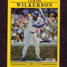 1991 Fleer Baseball #438 Curtis Wilkerson - Chicago Cubs