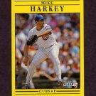 1991 Fleer Baseball #423 Mike Harkey - Chicago Cubs