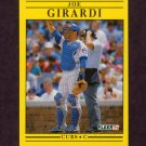 1991 Fleer Baseball #421 Joe Girardi - Chicago Cubs