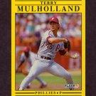 1991 Fleer Baseball #408 Terry Mulholland - Philadelphia Phillies
