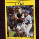 1991 Fleer Baseball #403 Steve Lake - Philadelphia Phillies