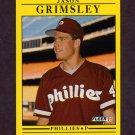 1991 Fleer Baseball #396 Jason Grimsley - Philadelphia Phillies