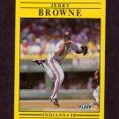 1991 Fleer Baseball #363 Jerry Browne - Cleveland Indians