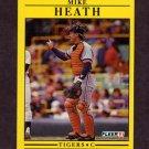 1991 Fleer Baseball #339 Mike Heath - Detroit Tigers