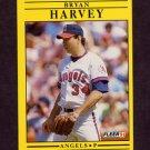 1991 Fleer Baseball #315 Bryan Harvey - California Angels