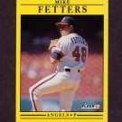 1991 Fleer Baseball #312 Mike Fetters - California Angels