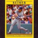 1991 Fleer Baseball #298 Kevin Reimer - Texas Rangers