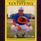 1991 Fleer Baseball #248 Nelson Santovenia - Montreal Expos