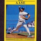 1991 Fleer Baseball #193 Don Aase - Los Angeles Dodgers