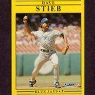 1991 Fleer Baseball #185 Dave Stieb - Toronto Blue Jays