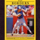 1991 Fleer Baseball #171 Pat Borders - Toronto Blue Jays