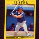 1991 Fleer Baseball #145 Kevin Elster - New York Mets