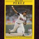 1991 Fleer Baseball #133 Melido Perez - Chicago White Sox