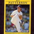 1991 Fleer Baseball #132 Ken Patterson - Chicago White Sox