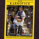 1991 Fleer Baseball #125 Ron Karkovice - Chicago White Sox