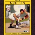 1991 Fleer Baseball #121 Ozzie Guillen - Chicago White Sox