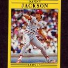 1991 Fleer Baseball #067 Danny Jackson - Cincinnati Reds