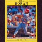 1991 Fleer Baseball #063 Bill Doran - Cincinnati Reds