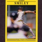 1991 Fleer Baseball #050 John Smiley - Pittsburgh Pirates