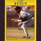 1991 Fleer Baseball #047 Gary Redus - Pittsburgh Pirates