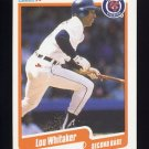1990 Fleer Baseball #619 Lou Whitaker - Detroit Tigers