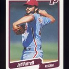 1990 Fleer Baseball #570 Jeff Parrett - Philadelphia Phillies