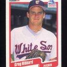 1990 Fleer Baseball #534 Greg Hibbard RC - Chicago White Sox