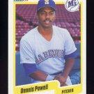 1990 Fleer Baseball #521 Dennis Powell - Seattle Mariners