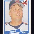 1990 Fleer Baseball #504 Rich Yett - Cleveland Indians