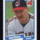 1990 Fleer Baseball #483 Andy Allanson - Cleveland Indians Ex