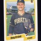 1990 Fleer Baseball #465 Doug Drabek - Pittsburgh Pirates ExMt