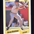 1990 Fleer Baseball #464 Benny Distefano - Pittsburgh Pirates