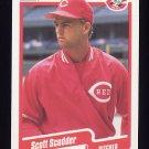 1990 Fleer Baseball #434 Scott Scudder - Cincinnati Reds