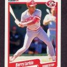 1990 Fleer Baseball #423 Barry Larkin - Cincinnati Reds