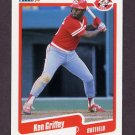 1990 Fleer Baseball #420 Ken Griffey Sr. - Cincinnati Reds