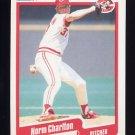1990 Fleer Baseball #416 Norm Charlton - Cincinnati Reds