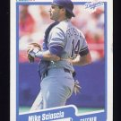 1990 Fleer Baseball #407 Mike Scioscia - Los Angeles Dodgers