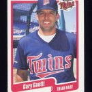 1990 Fleer Baseball #373 Gary Gaetti - Minnesota Twins