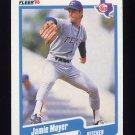 1990 Fleer Baseball #307 Jamie Moyer - Texas Rangers ExMt