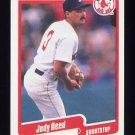 1990 Fleer Baseball #284 Jody Reed - Boston Red Sox
