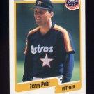 1990 Fleer Baseball #233 Terry Puhl - Houston Astros