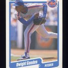 1990 Fleer Baseball #204 Dwight Gooden - New York Mets ExMt