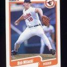 1990 Fleer Baseball #182 Bob Milacki - Baltimore Orioles