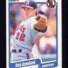 1990 Fleer Baseball #144 Dick Schofield - California Angels