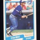 1990 Fleer Baseball #097 Ernie Whitt - Toronto Blue Jays Ex