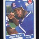 1990 Fleer Baseball #044 Jerome Walton - Chicago Cubs ExMt