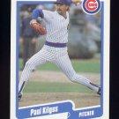 1990 Fleer Baseball #034 Paul Kilgus - Chicago Cubs